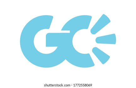 logo gc design vector syimbol
