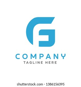 Logo GF Simple Creative Design