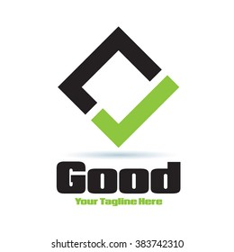 Logo Good Yes Icon Element Template Design Logos