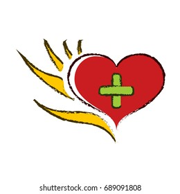 Logo Hand helps heart and mind 6