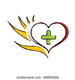 Logo Hand helps heart and mind 5