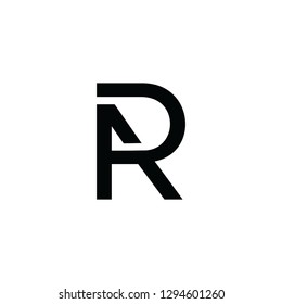 logo icon ar monogram