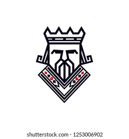 Poker King Logo High Res Stock Images Shutterstock