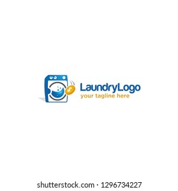 Logo or Icon For Loundry Business