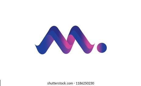 Logo Icon Music milenial M