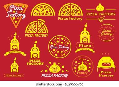 Logo and Icon for Pizza Resto