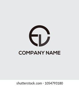 logo initial fl vektor