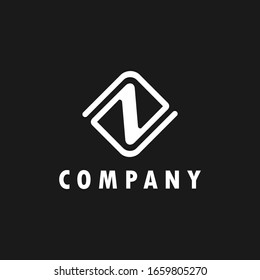 logo inspiration: the letter Z is combined with the letter N design using lines that look elegant. The logo is suitable for business, accounting, building, technology etc.