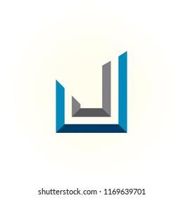 logo JJ vector, icon JJ concept, alphabet symbol illustrator EPS 10