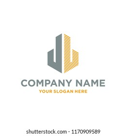 Logo JL for Real Estate Company