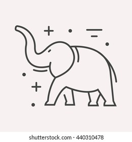 photo relating to Elephant Outline Printable referred to as Elephant Define Shots, Inventory Shots Vectors Shutterstock
