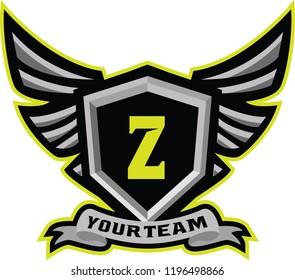 Logo Latter initial for sport,e sport