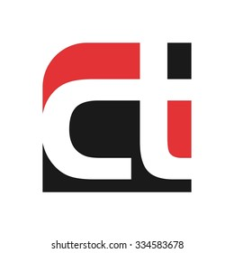 logo of letter c and t