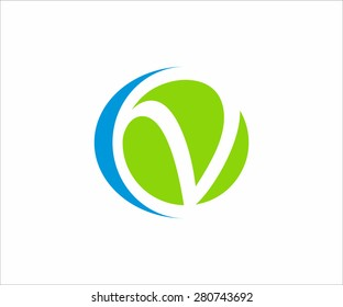 Logo letter C and V. Vector design for your company.