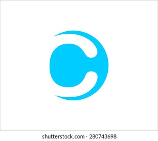 Logo letter  C. Vector design for your company.