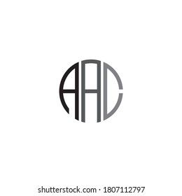 Logo Letter Combinations A, A and C. 3 Letter Combinations