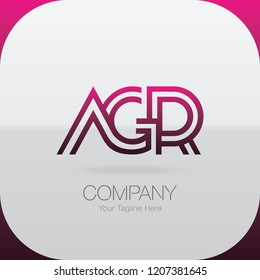 Logo Letter Combinations A, G and R. 3 letter combinations