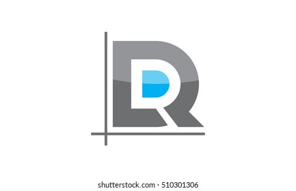Logo Letter DR