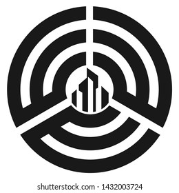 Logo letter EEE vector modern