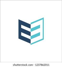 logo letter ew