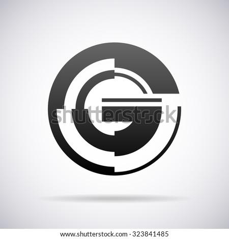 logo for letter g design template