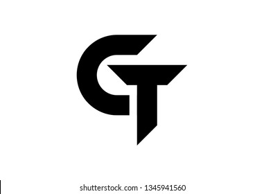 logo letter g and t or c and t