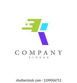 logo letter k,  initial company logo letter k +  k icon with a simple look + icon of fast and precise delivery service company, fast delivery