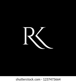 logo with letter R and K