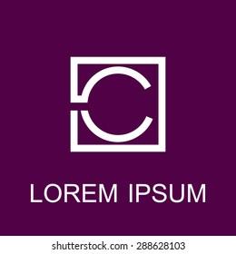 Logo letters C