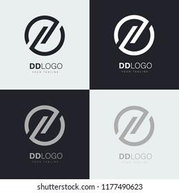 logo letters dd