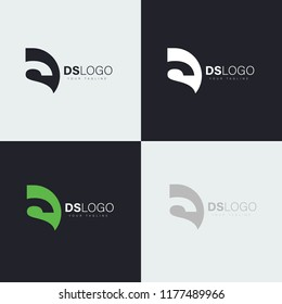 logo letters ds