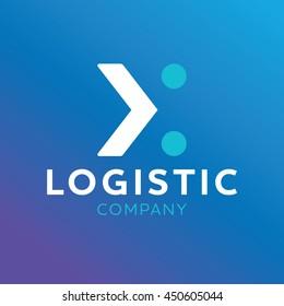 Logo Logistic company