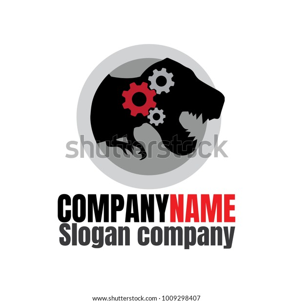 Logo Machine Shop Performance Shop Auto Stock Vector Royalty Free