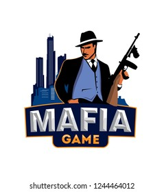 Logo Mafia game