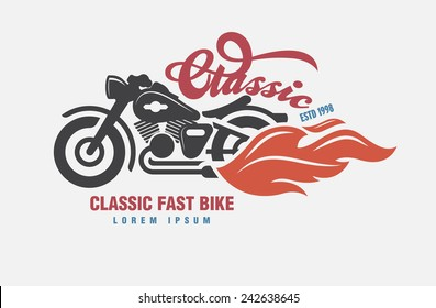 logo Motor club vector.