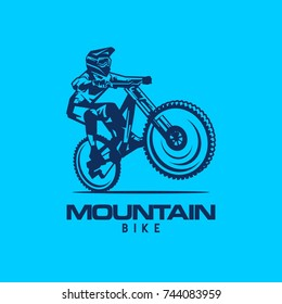 Logo Mountain Bike Free Ride Downhill