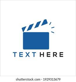 Logo movie multimedia design modern simple