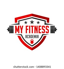 logo my fitness academy you company
