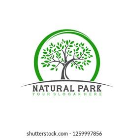 Logo for natural park