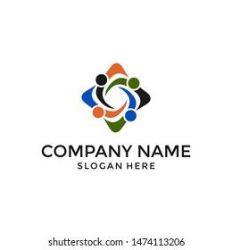 logo people human vector graphic