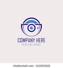 Logo Photograpy, Optical Logo