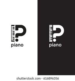 Piano Logo Images, Stock Photos & Vectors   Shutterstock