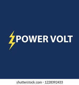 Logo power volt design