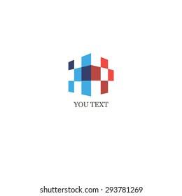 logo, rectangle