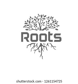 Logo for root