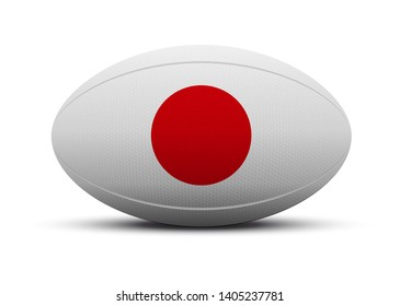 Logo for rugby Japan team. Japanese text means Japan