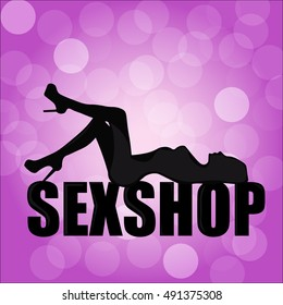 logo for a sex shop