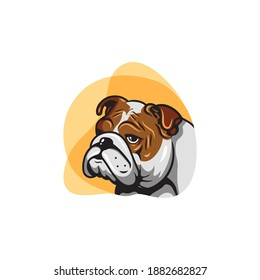 The logo is in the shape of a bulldog head, with a hint of modern elegance.