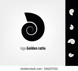 Logo shell, the Golden ratio
