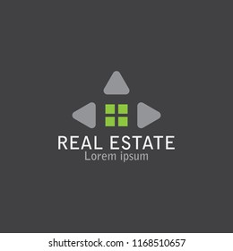 logo simple and minimalis. can beuse for real estate slogan ,house,home identity